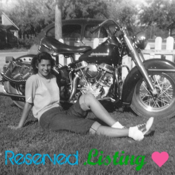 RESERVED listing especially for Amy Routh