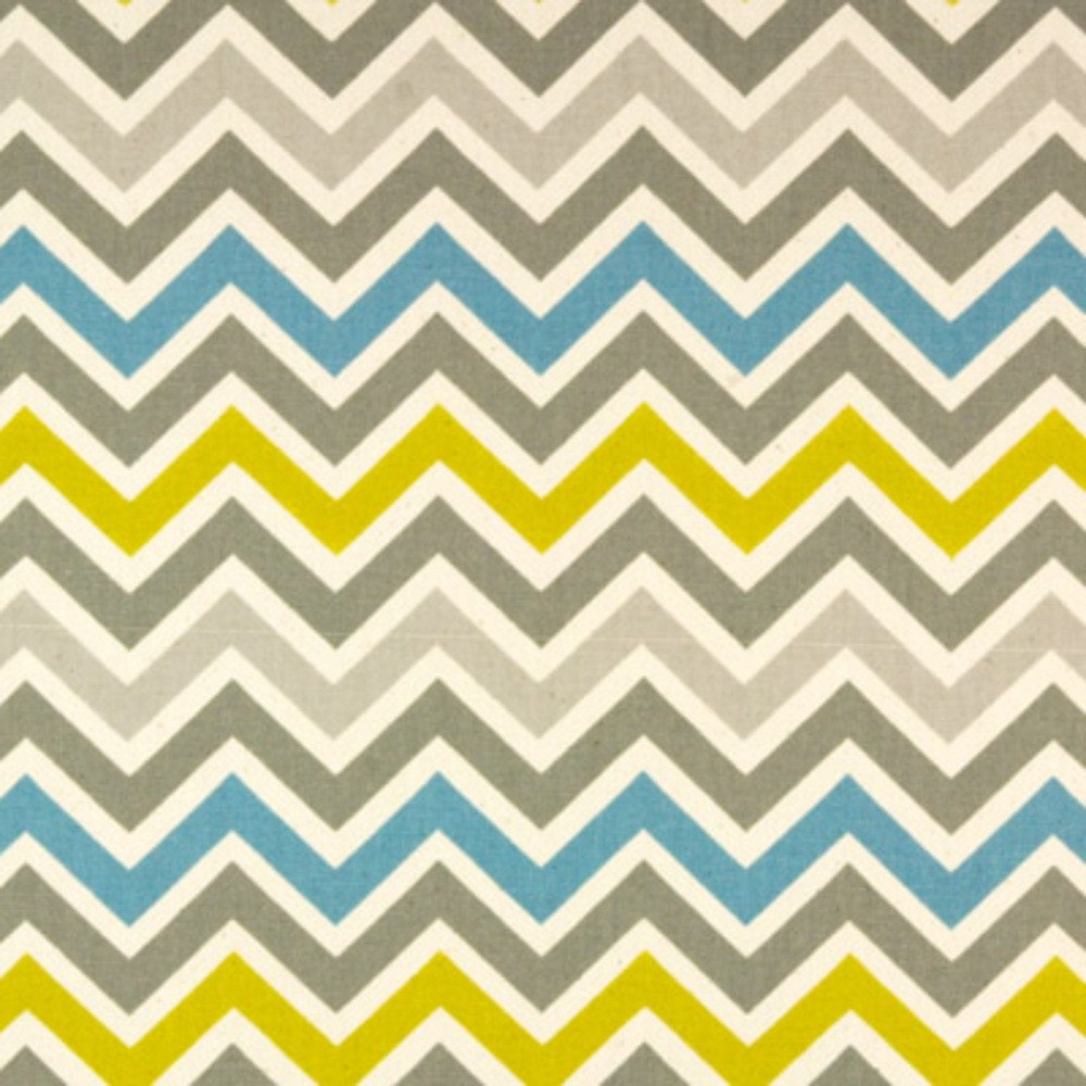 SALE Premier Prints Fabric Zoom Zoom Chevron in Summerland
