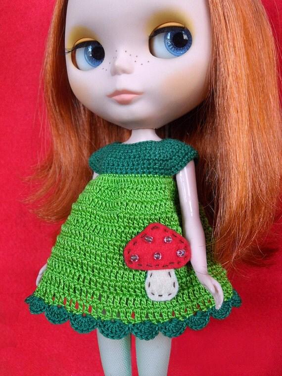 CROCHET DRESS for BLYTHE