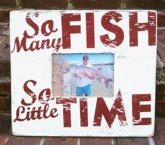 So Many Fish, So Little Time5 x 7  photo frame