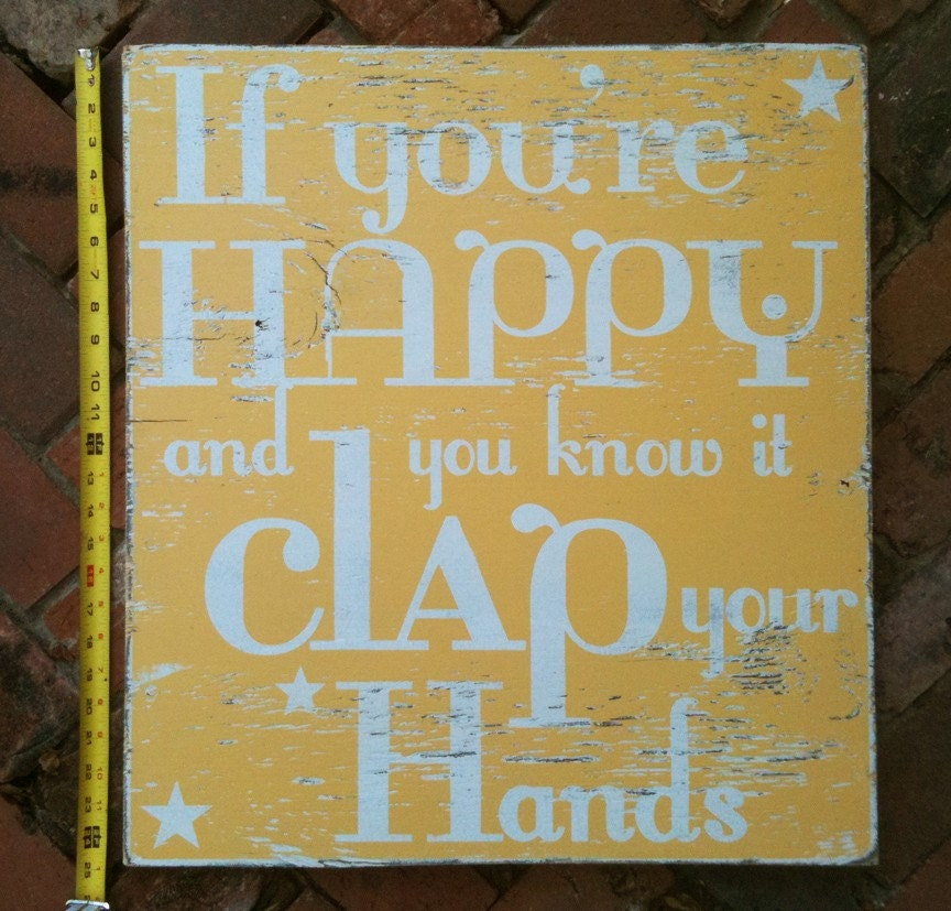 Popular items for clap your hands on Etsy