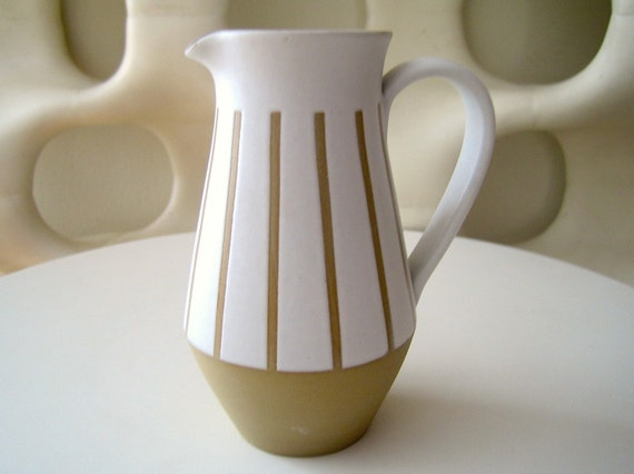 Denby Stoneware Gourmet Pattern Cream Pitcher