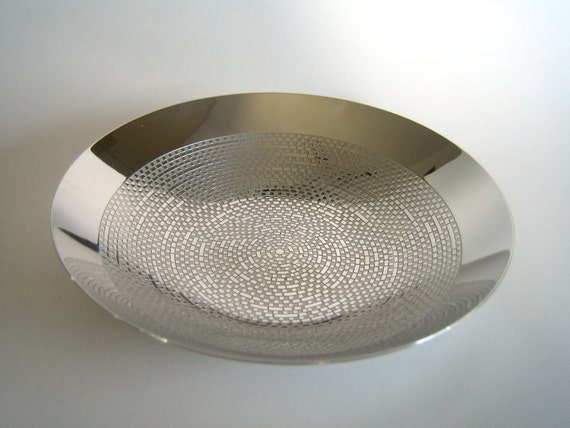 WMF Cromargan S Collection Stainless Op-Art Bowl by  Sigrid Kupetz
