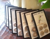 RESERVED LISTING for snowball2702...Antler Buttons...10 cards