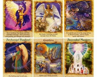 Angel Oracle Card Reading - 6 Card Spread (via Typed Email)