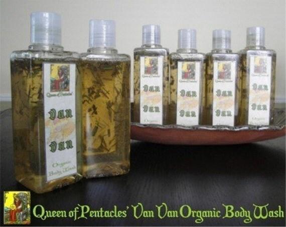 Hoodoo Van Van Organic Body Wash - 250mL - Draw Good Fortune, Keep Spiritually Clean