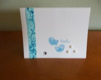 Blue Bird Notecards- Pack of 10