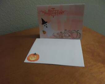 Set of 10 Halloween Party Invitations