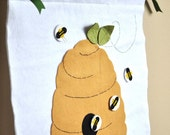 Pin the Bee on the Hive - Felt Party Game