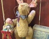 Vintage Inspired OOAK Easter Bunny
