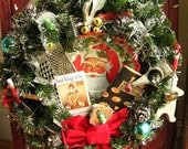 Cooking and Baking Themed Christmas Wreath