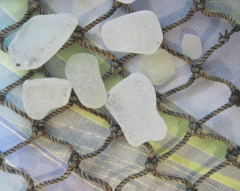 Authentic AMALFI Coast Frosted Sea Glass from Italy for jewelry making 811