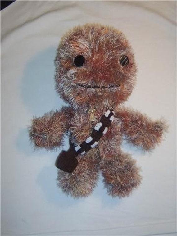SACKBOY Star Wars Chewbacca Hand Knitted Toy LBP