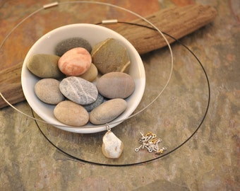 Memory Necklace - Custom Made With Your Own Stone