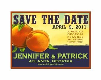 Georgia Peach Save the Date - SAMPLE