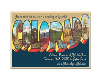 From Colorado Save the Date Card - SAMPLE