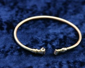 Mens Brass Bracelet - Unisex - Sizes for Men and Women