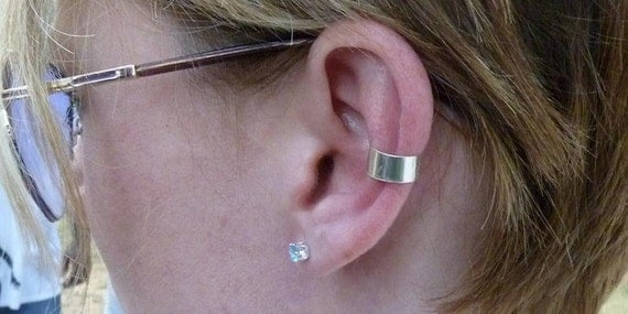 Funky Jewelry Sterling Silver Ear Band