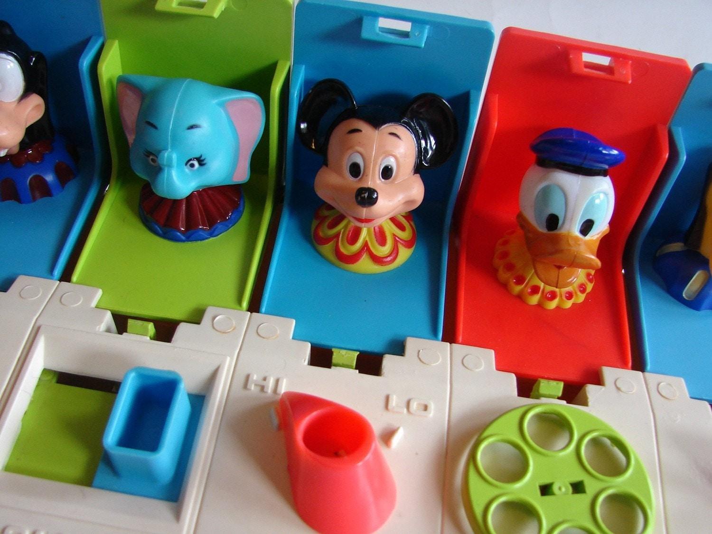 Toys That Pop Up : Vintage disney pop up toy