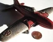 AIR PLANE airplane p-40 warhawk spitfire thunderbolt boeing lockheed cast iron toy children