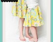 Rosie's Circle Twirl Skirt Plus Sizes PDF Sewing Pattern