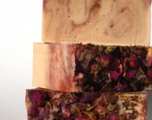 Natural and Organic Soap Bars (pack of 3)