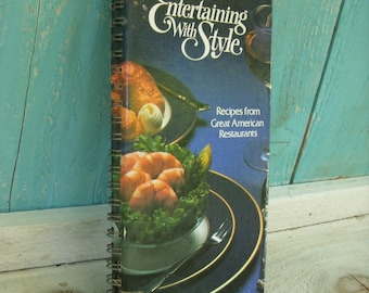 Vintage Cookbook - Benson and Hedges Presents Entertaining With Style 1980 First Edition