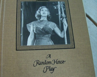 Vintage Book - A Clearing in the Woods - A Play