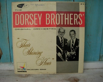 The Dorsey Brothers Vintage 33 1/2 LP  1957