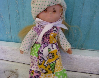 Vintage - Holly Hobbie Doll - Small Doll - Toy - Display Piece - Toys - Girl - Gift Idea