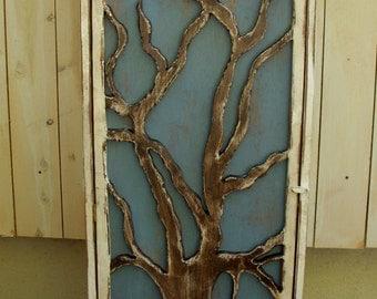 Entryway - Mudroom - Organization - Shelving - Wood Cabinet - Shelf - Storage - Oak Tree - Shelves - Shabby - Cottage Chic - Rustic Decor