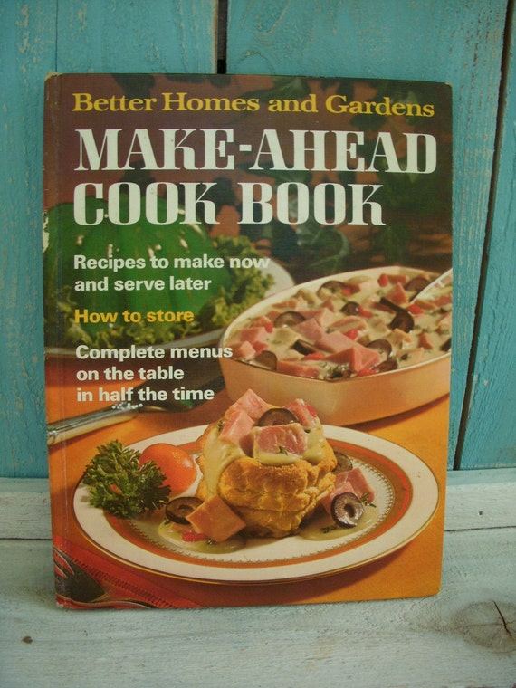 Vintage Cookbook Better Homes And Gardens By Honeystreasures