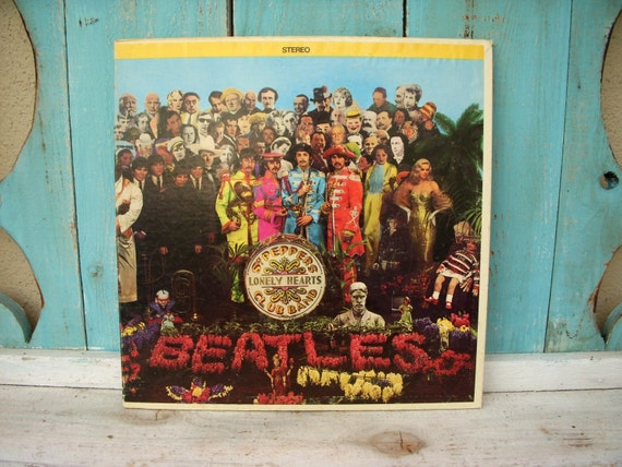 Sgt Peppers Lonely Hearts Club Band Lp Smas 2653