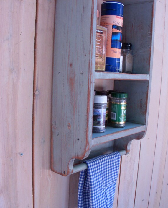 Wood - Wooden Shelf - Shelving - Wooden Shelves - Paris Apartment - Shabby Country - Storage