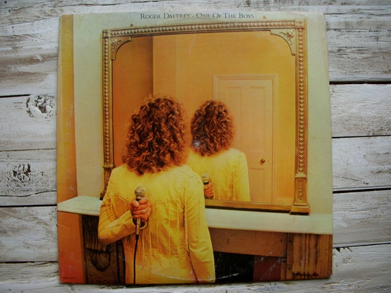 Roger Daltrey One of the Boys - Vintage Classic Rock Vinyl