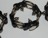 Abby (from NCIS) inspired Spiky Punk Bracelets