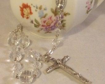 Crystal Beaded Rosary