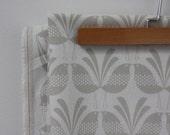Belbird Design -Warm Grey - Hand Screen Printed Fabric