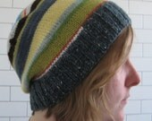 Big Slouch Striped Hat