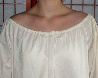 Renaissance Chemise Nightgown Womens XS - XLg Prairie UnderDress Custom Made
