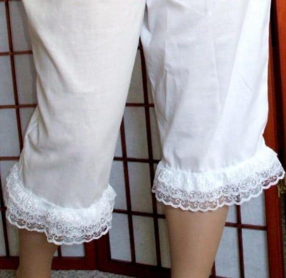 CUSTOM BLOOMERS Pantaloons Womens Plus Sizes 2X - 5X Renaissance Costume