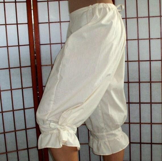 CUSTOM Victorian Gothic Pantaloons Womens Plus Sizes 2X -4X Bloomers