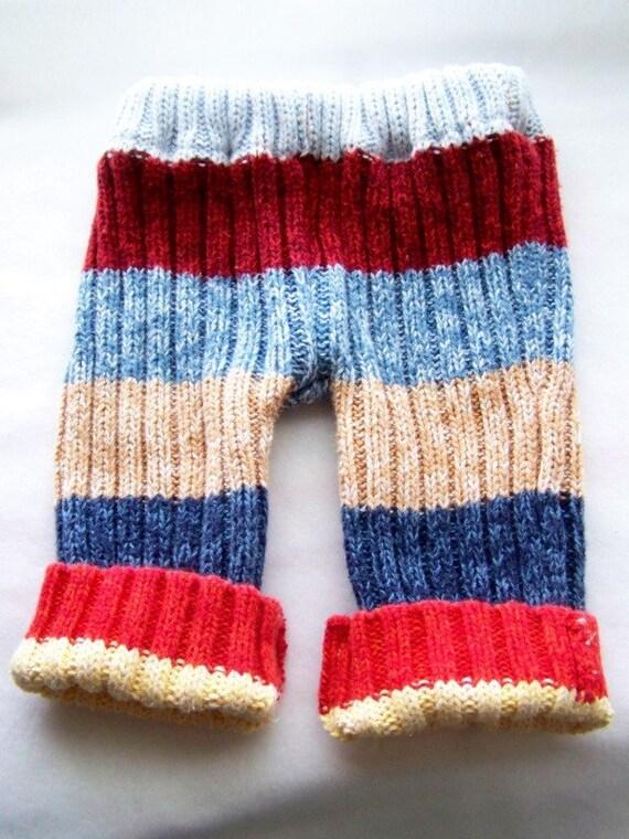 Knitting Pattern For Sock Monkey Sweater : Sock Monkey Sweater Pants/Longies/Diaper Cover by paulakathlyn