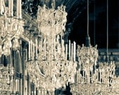 Paris Print, Versailles Photograph, Paris Fine Art Photograph, Paris Decor, Hall of Mirrors, Versailles Chandeliers - Galerie des Glaces