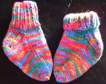 Toddler's Rainbow Socks