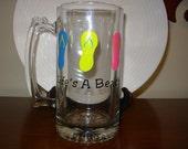 Flip Flop Beer Mug