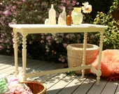 Cottage White Vintage sofa table