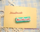 Hand Carved HANDMADE Rubber Stamp (Made to Order)