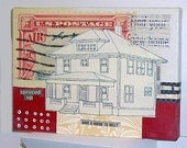 House Original Paper Collage  -Find Your New Home