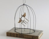 "Paper Chair Altered Book OOAK  ""My Chair Takes Flight"""
